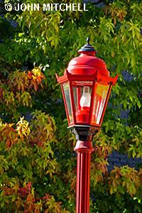 Red Lamppost